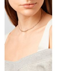 Alison Lou - Metallic + Hasbro Question Mark 14-karat Gold Necklace - Lyst