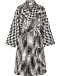 Manteau En Tweed Pied-de-poule Palmoba Simon Miller en coloris Black