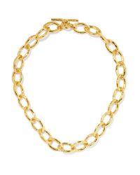 Ippolita | Metallic Glamazon Hammered 18-karat Gold Necklace | Lyst