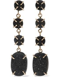 Melissa Joy Manning | Metallic 14-karat Gold Druzy Earrings | Lyst