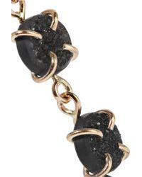 Melissa Joy Manning Metallic 14-karat Gold Druzy Earrings