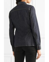 Tom Ford | Blue Denim Shirt | Lyst