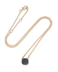 Pomellato | Metallic Nudo 18-karat Rose Gold Diamond Necklace | Lyst