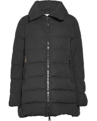 Moncler Black Petrea Quilted Shell Down Jacket