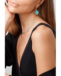 Boucles D'oreilles En Or 18 Carats Et Turquoises Polished Rock Candy Mini Ippolita en coloris Metallic