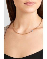 Pomellato | Metallic Sabbia 18-karat Rose Gold Diamond Necklace | Lyst