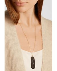CVC Stones | Multicolor Divina 18-karat Gold, Stone And Diamond Necklace | Lyst