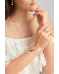 Pascale Monvoisin - Metallic Orso N°1 9-karat Rose Gold, Labradorite And Diamond Bracelet - Lyst
