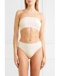 Culotte De Bikini Mia Myra Swim en coloris White