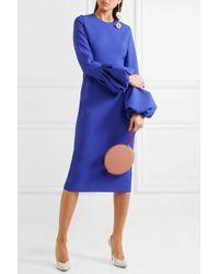 Roksanda - Blue Stretch-crepe Midi Dress - Lyst