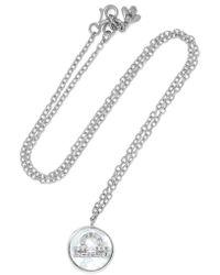 Carolina Bucci   Metallic Libra Lucky 18-karat White Gold Multi-stone Necklace   Lyst