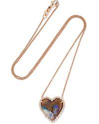 Kimberly Mcdonald | Metallic 18-karat Rose Gold, Opal And Diamond Necklace | Lyst