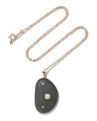 CVC Stones - Metallic Paz 18-karat Gold, Stone And Diamond Necklace - Lyst