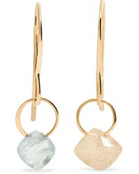 Melissa Joy Manning - Metallic 14-karat Gold Sapphire Earrings - Lyst