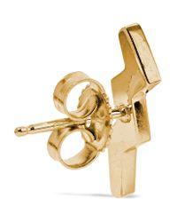 Andrea Fohrman - Metallic 14-karat Gold Sapphire Earring - Lyst