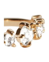 Catbird Metallic Snow Queen 14-karat Gold Diamond Ring Gold 5