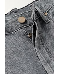 Jean Droit Taille Mi-haute The Relaxed Straight Goldsign en coloris Gray
