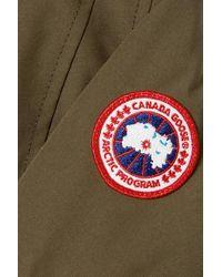 Canada Goose Multicolor Kinley Daunenparka Aus Shell Mit Kapuze