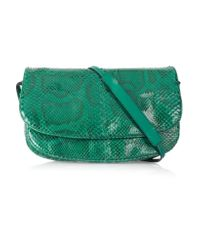 Bottega Veneta   Multicolor Small Python Messenger Bag   Lyst