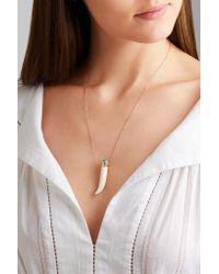 Pascale Monvoisin - Metallic Sagan 9-karat Rose Gold, Turquoise And Bakelite Necklace - Lyst