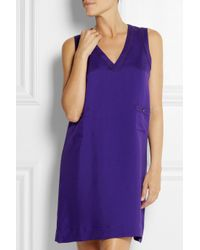 Eres - Purple Endormie Assoupie Silk Nightdress - Lyst
