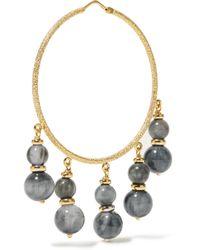 Carolina Bucci - Metallic Recharmed 18-karat Gold Agate Hoop Earrings - Lyst