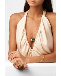 Ippolita Metallic Nova Cluster 18-karat Gold Multi-stone Necklace