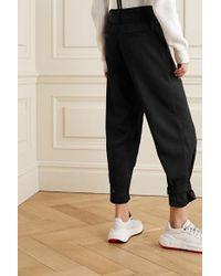 Pantalon Fuselé À Ceinture PROENZA SCHOULER WHITE LABEL en coloris Black