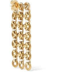 Laura Lombardi Metallic Gold-tone Earrings