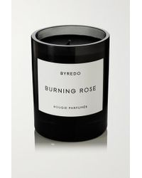 Byredo Black Burning Rose Scented Candle, 240g