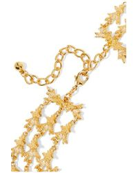 Kenneth Jay Lane Metallic Gold-tone Necklace