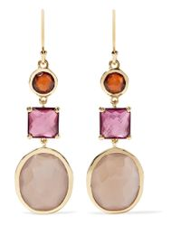 Ippolita - Metallic Rock Candy 18-karat Gold Multi-stone Earrings - Lyst