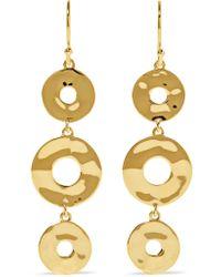 Ippolita Metallic Senso 18-karat Gold Earrings