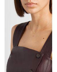 Jennifer Meyer Metallic Small Open Heart 18-karat Gold Necklace