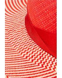 Sensi Studio | Red Cordovez Toquilla Straw Sunhat | Lyst