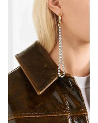 Jennifer Fisher - Metallic Garland Duster Convertible Gold-plated And Silver-tone Earring - Lyst