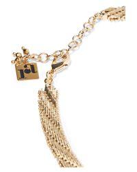 Rosantica - Metallic Volutta Gold-tone Necklace - Lyst