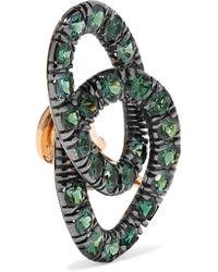 Pomellato Metallic Tango 18-karat Rose Gold Garnet Earrings