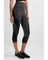 Legging Raccourci Stretch Launch LNDR en coloris Black