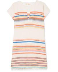 Lemlem Multicolor Yodit Striped Cotton-blend Gauze Mini Dress
