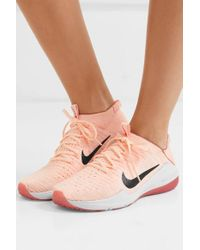 Nike Pink Air Zoom Fearless 2 Flyknit Sneakers