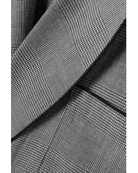Peignoir En Coton À Carreaux Prince-de-galles Sleepy Jones en coloris Gray