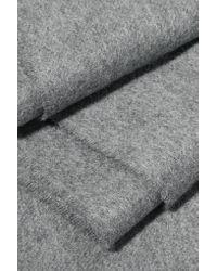 Écharpe, Bonnet Et Gants En Cachemire Johnstons en coloris Gray