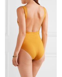 Three Graces London | Multicolor Attila Open-back Swimsuit | Lyst