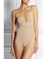 Fashion Forms Natural U-plunge Selbstklebender, Rückenfreier String-body
