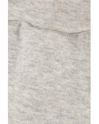 Simon Miller Gray Yuba French Cotton-terry Track Pants