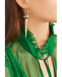 Valentino - Metallic Gold-tone Earrings - Lyst