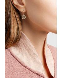 Andrea Fohrman - Metallic Phases Of The Moon 18-karat Gold Diamond Earrings - Lyst