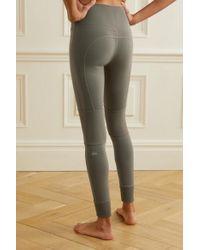 Alo Yoga Green Avenue Stretch-leggings