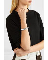Bracelet En Plaqué Argent Tube Jennifer Fisher en coloris Metallic